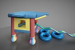幼儿游乐园游乐设施模型模型3d模型