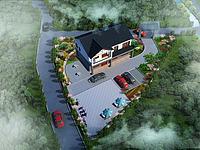 园林建筑景观3d模型