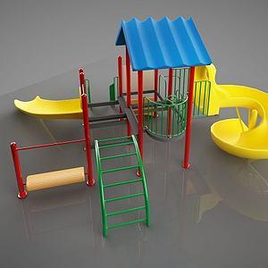 幼儿游乐设施模型