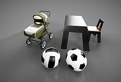 幼儿用品模型3d模型