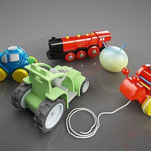 幼儿用品模型