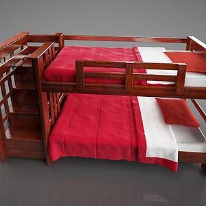 儿童床模型