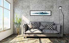 现代沙发模型