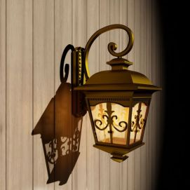 复古壁灯模型