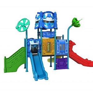 机器人滑梯模型