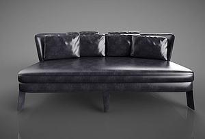 3d北欧沙发模型