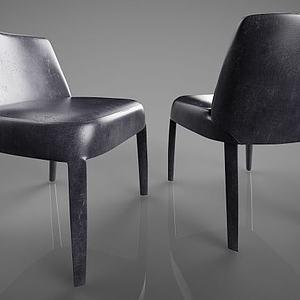 北欧单椅模型
