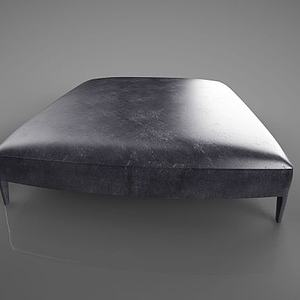 3d<font class='myIsRed'>皮质沙发</font>凳模型