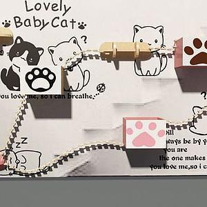 3d猫爬架模型