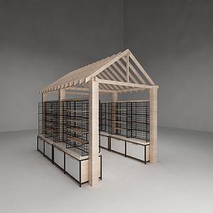 房型置物架模型