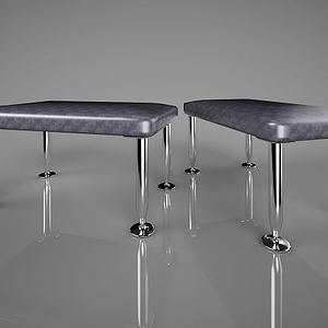 现代创意凳子模型