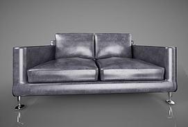 现代北欧沙发模型