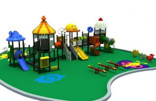 儿童乐园3d模型