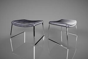现代简约休闲椅模型3d模型