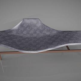 现代简约休闲椅模型