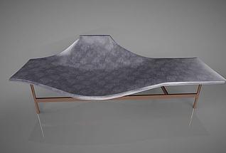 现代简约休闲椅3d模型