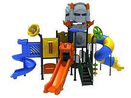 机器人滑梯儿童?#21355;?#35774;施模型