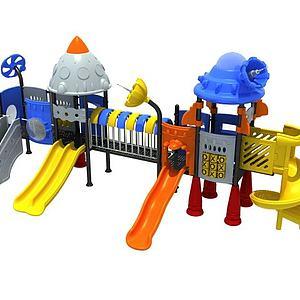 儿童滑梯儿童游乐设施模型