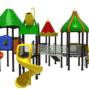 儿童游乐园模型
