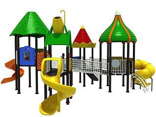 儿童游乐园3d模型