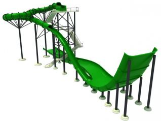水上乐园3d模型