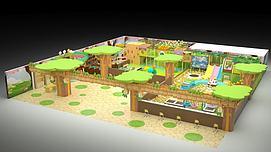 主题乐园模型