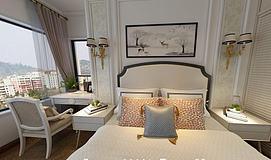 卧室主卧模型