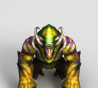 游戏角色三目神猿