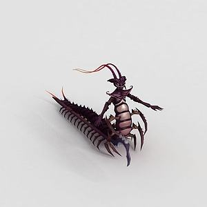 3d游戏角色螳螂模型
