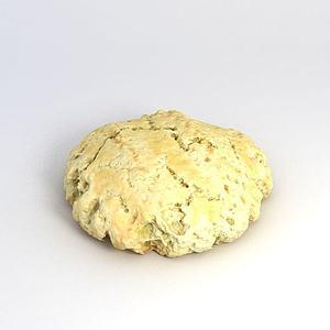 3d饼面饼模型