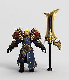 王者荣耀游戏人物角色模型