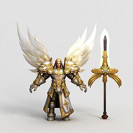 王者榮耀hero游戲角色模型