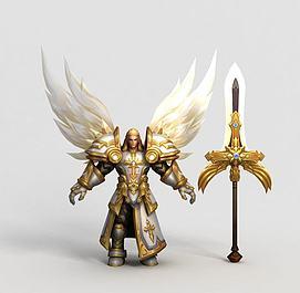 王者荣耀hero游戏角色模型