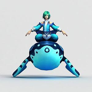 3d<font class='myIsRed'>王者荣耀</font>游戏男角色模型