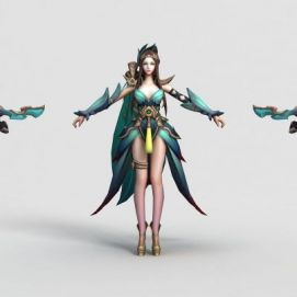 王者榮耀hero2013模型