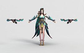 王者荣耀hero2013模型