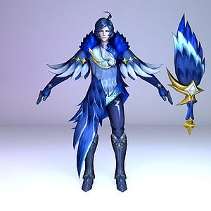 C4D王者榮耀2013游戲角色模型