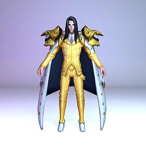 C4D王者榮耀2013男游戲角色模型