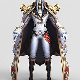 王者榮耀2013游戲人物模型