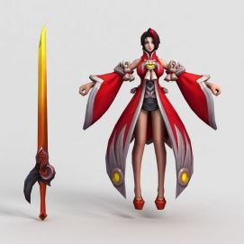 王者榮耀2013模型