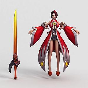 王者荣耀2013模型