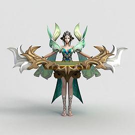 王者榮耀hero模型