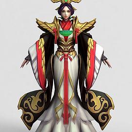 王者榮耀2013角色人物模型