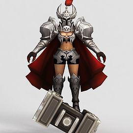 王者榮耀hero游戲模型