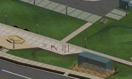 虚拟外场景景观模型