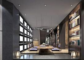 会客厅会议室模型