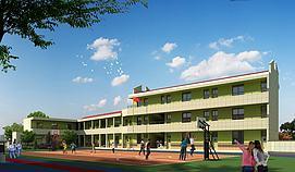 教学楼模型