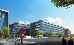 产业园商务办公楼模型3d模型