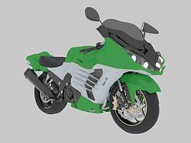 川崎摩托中国Kawasaki模型