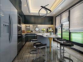 创意厨房模型